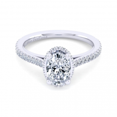 14K White Gold 1-5/8ctw Atia Couture Engagement Ring