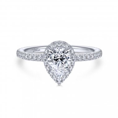 14K White Gold 1ctw Atia Collection Engagement Ring