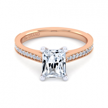 14K Rose Gold 1-2/3ctw Grand Collection Engagement Ring