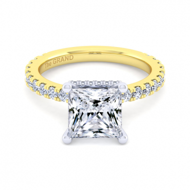 14K Yellow Gold 3-1/2ctw Grand Collection Engagement Ring