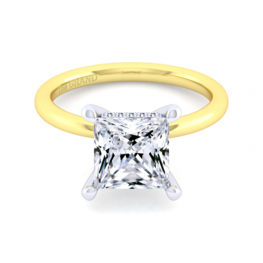 14K Yellow Gold 3-1/10ctw Grand Collection Engagement Ring