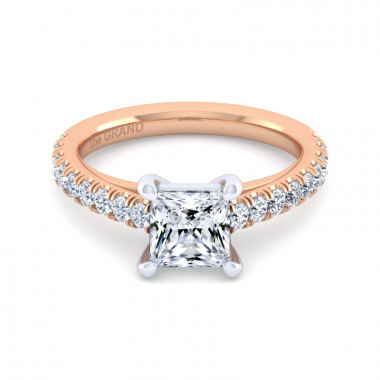 14K Rose Gold 2ctw Grand Collection Engagement Ring