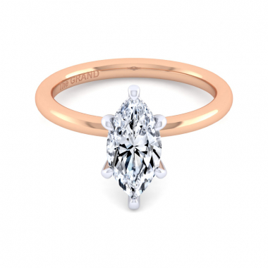 14K Rose Gold 1-1/2ctw Grand Collection Engagement Ring