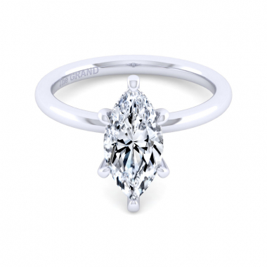 14K White Gold 2ctw Grand Collection Engagement Ring