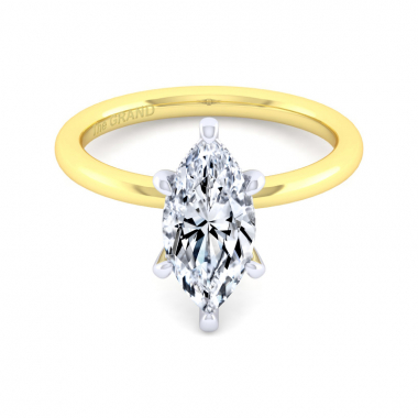 14K Yellow Gold 2ctw Grand Collection Engagement Ring