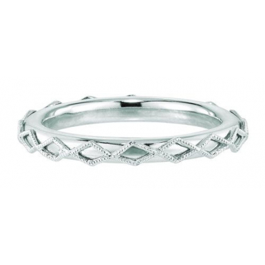 Sterling Silver Geometric Shape Stackable Ring