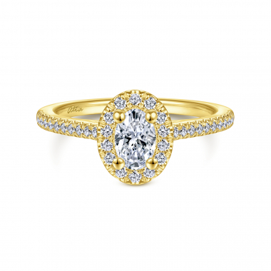 14K Yellow Gold 4/5ctw Atia Collection Engagement Ring