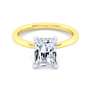 14K Yellow Gold 2-1/10ctw Grand Collection Engagement Ring