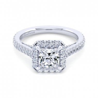 14K White Gold 2-1/4ctw Atia Couture Engagement Ring