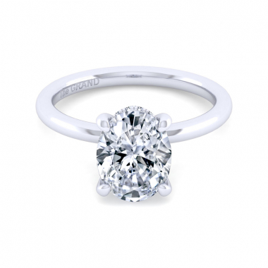 14K White Gold 2-1/10ctw Grand Collection Engagement Ring
