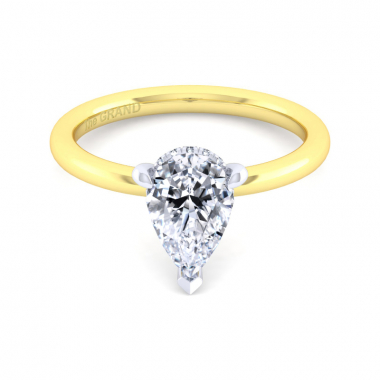 14K Yellow Gold 1-5/8ctw Grand Collection Engagement Ring