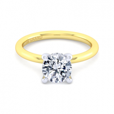 14K Yellow Gold 1-1/2ctw Grand Collection Engagement Ring