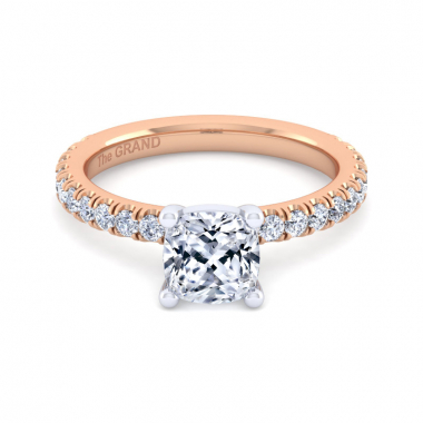 14K Rose Gold 1-7/8ctw Grand Collection Engagement Ring