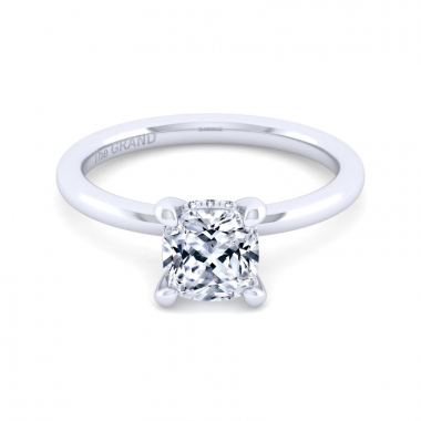 14K White Gold 1-1/2ctw Grand Collection Engagement Ring
